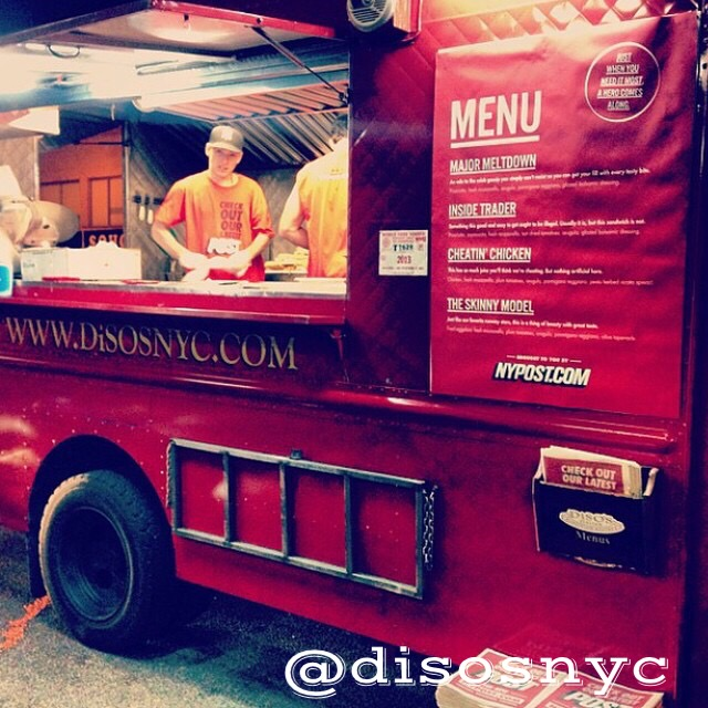 Disos nyc food truck catering Queens
