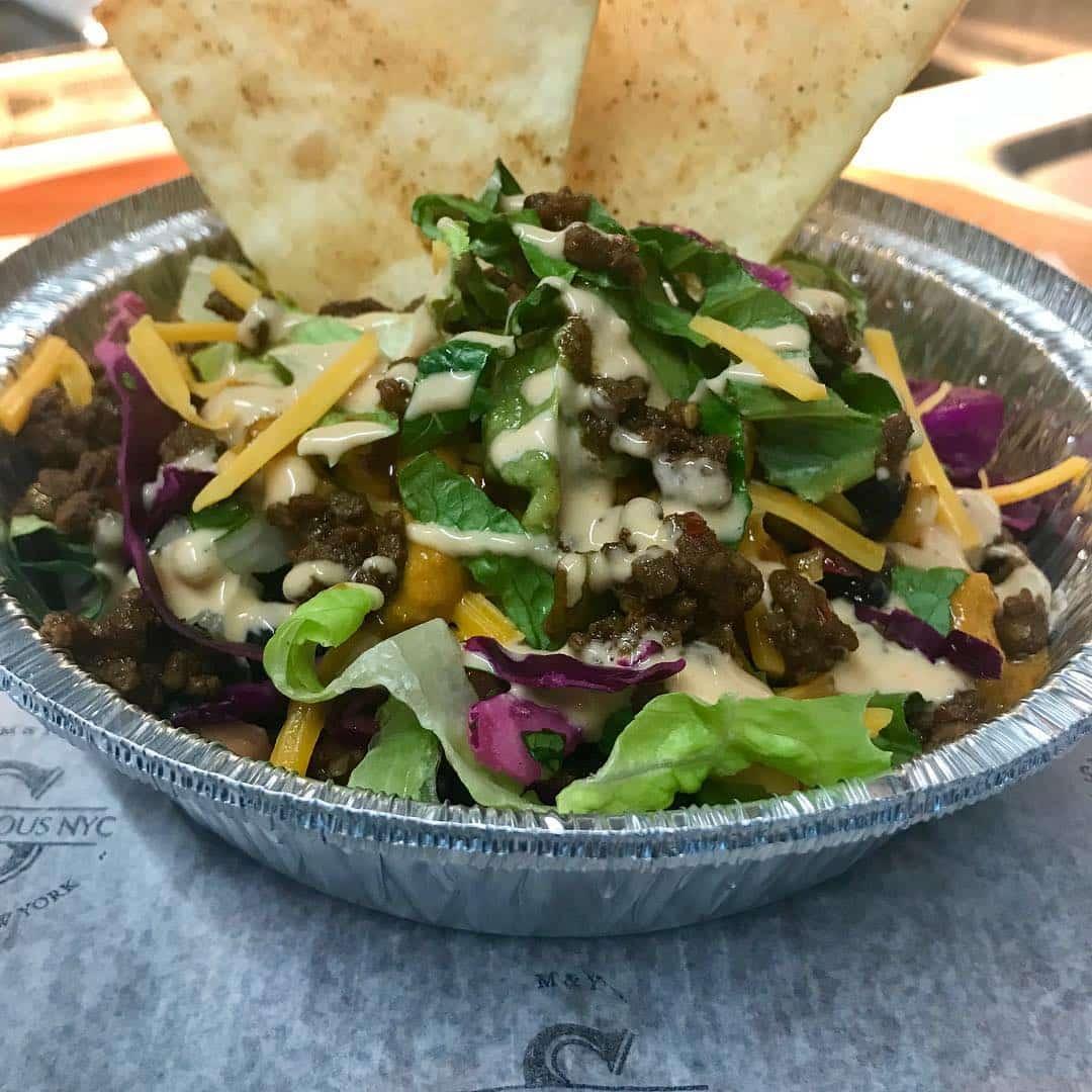 food truck nyc salad