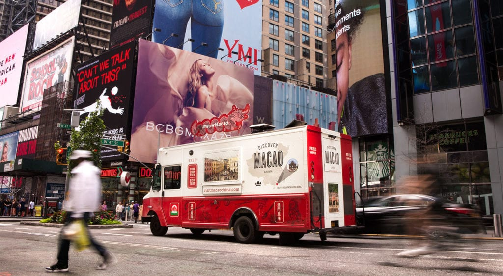 Macao Marketing Food Truck New York