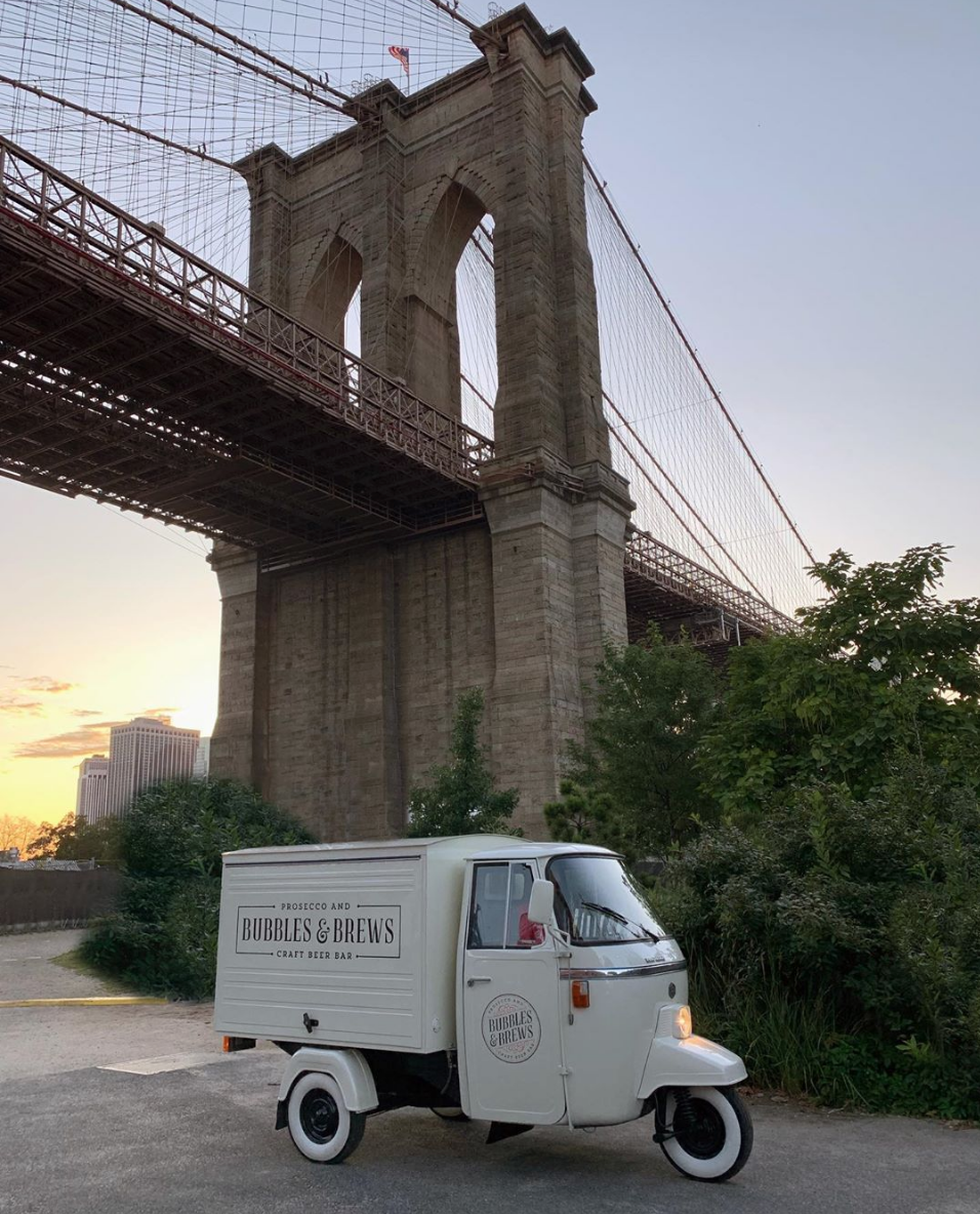 bubbles and brews mobile bar catering service new york