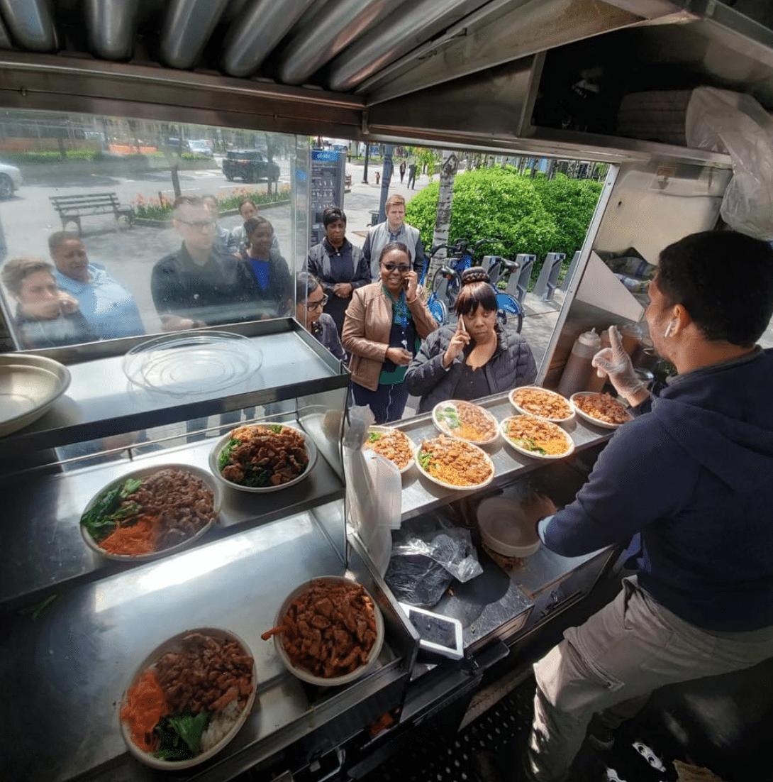 Terry and Yaki Food Cart NYC