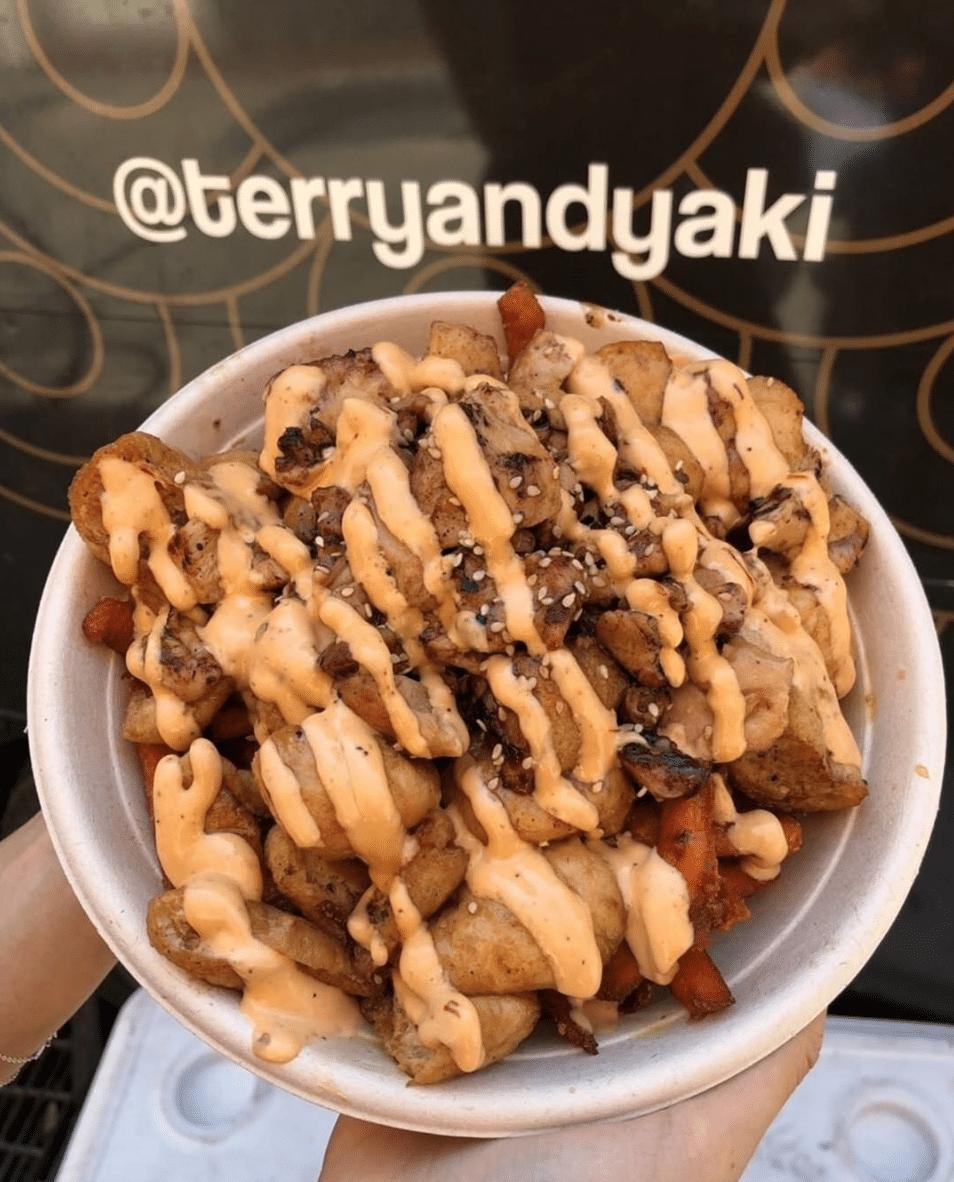 Terry and Yaki Loaded Sweet Potato Fries