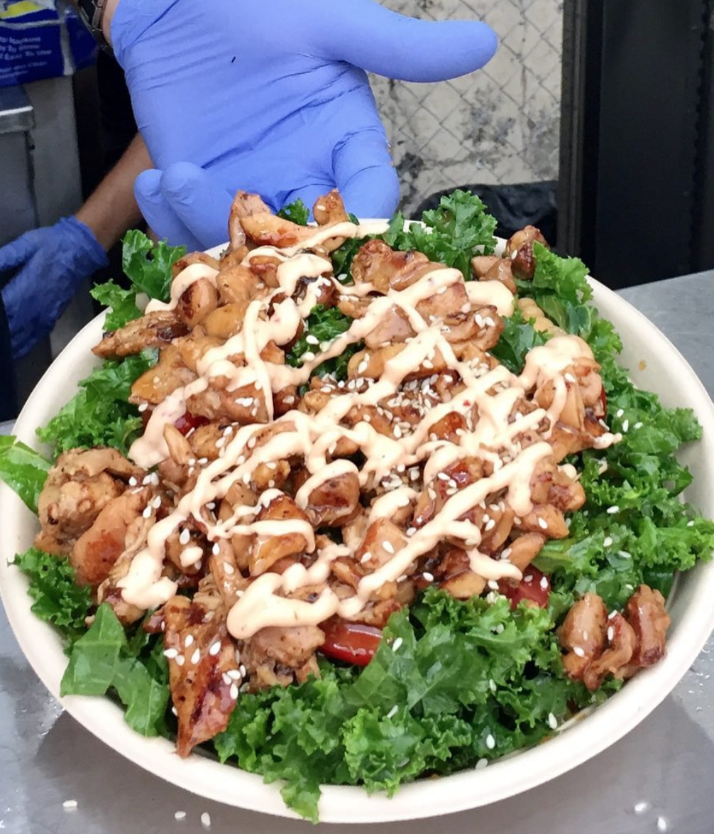 Terry and Yaki Terry Salad Bowl