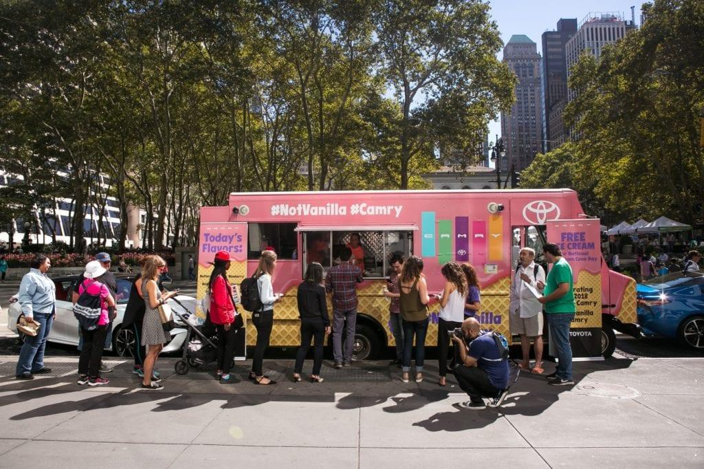 Vanilla Campaign Food Truck