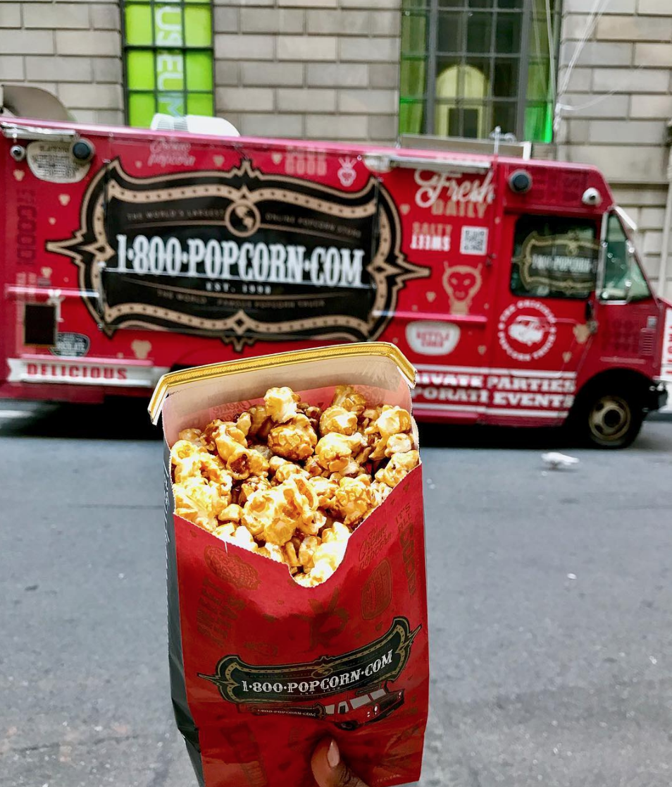 1800 Popcorn Truck New York
