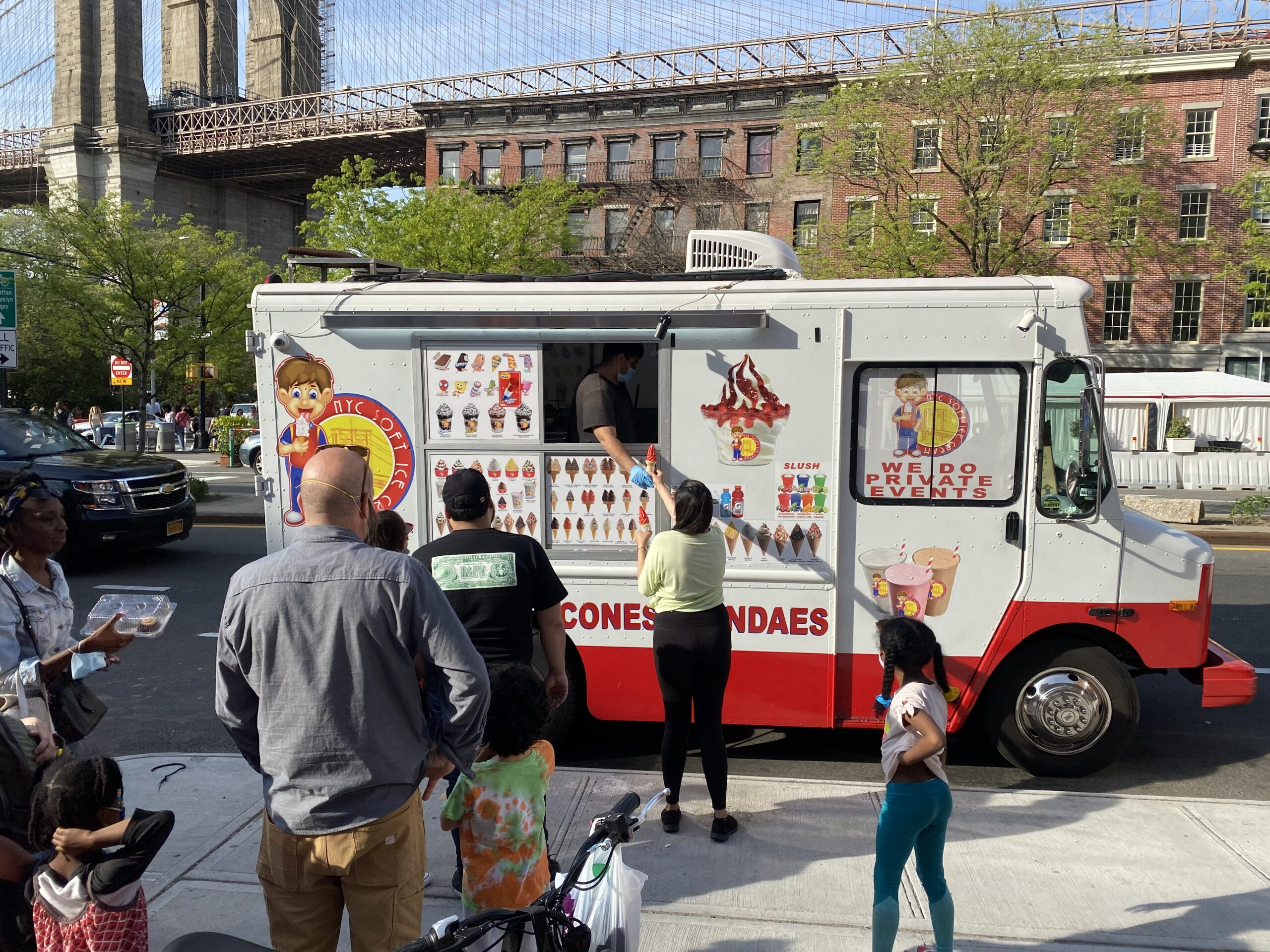 NYC Soft Ice Cream Truck