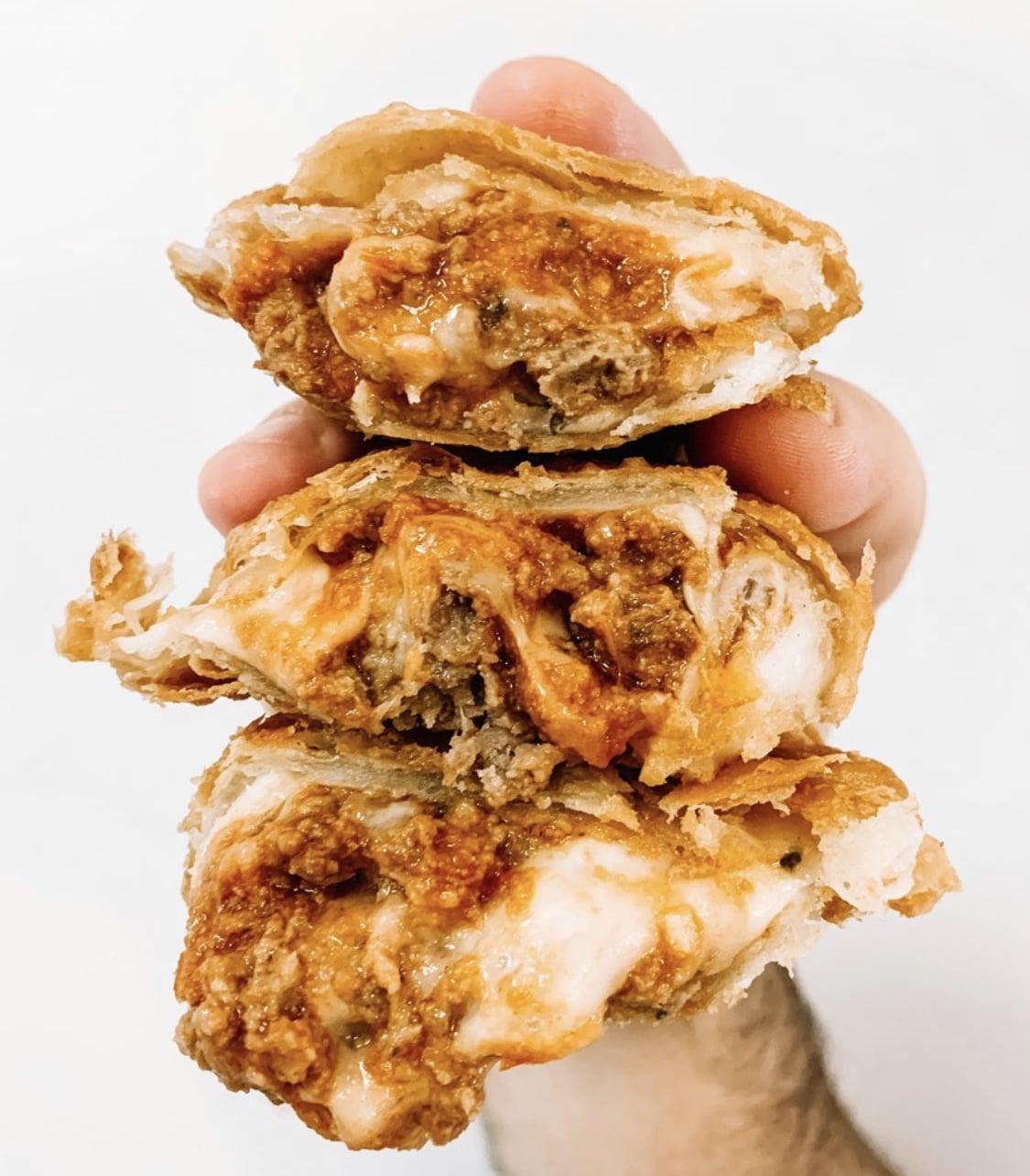 Meatball Parm Empanada