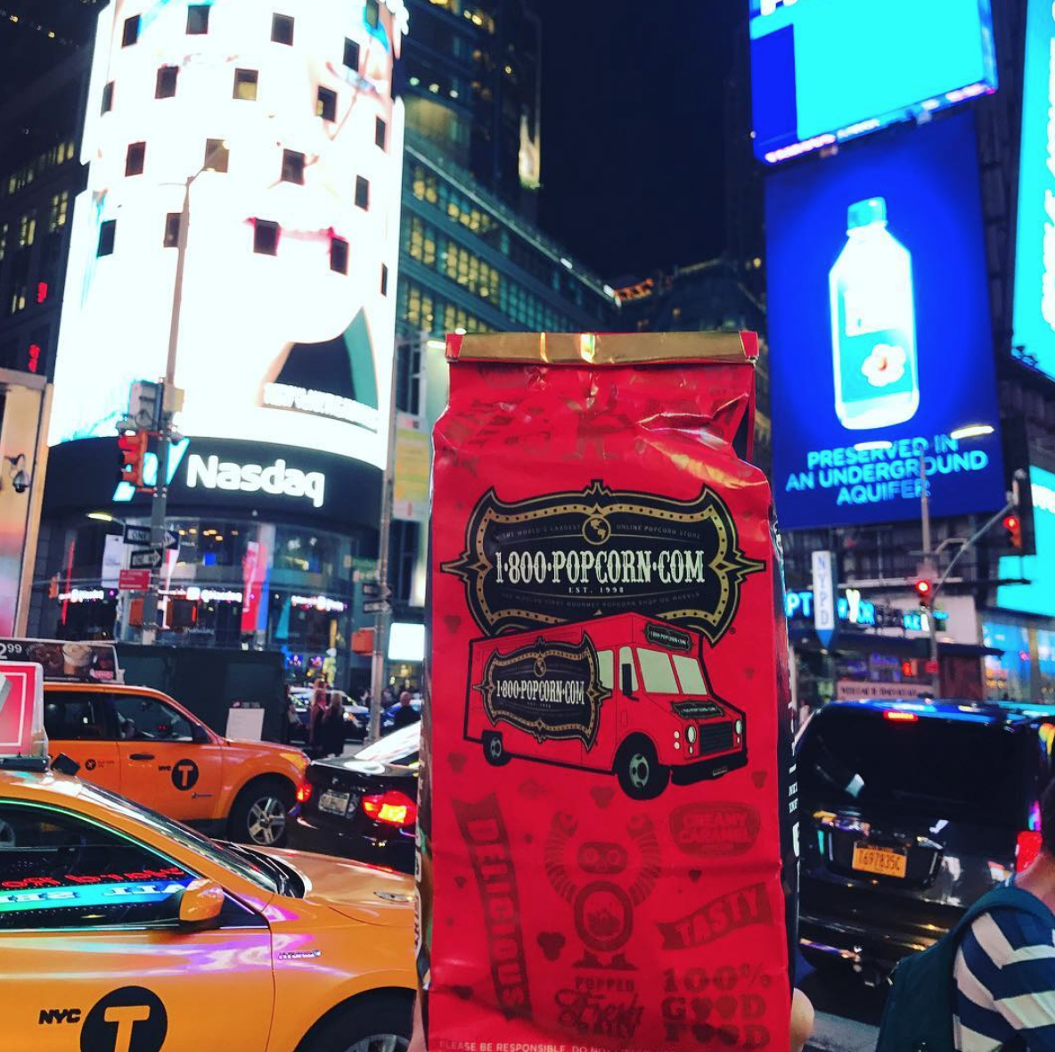 Popcorn Truck NYC