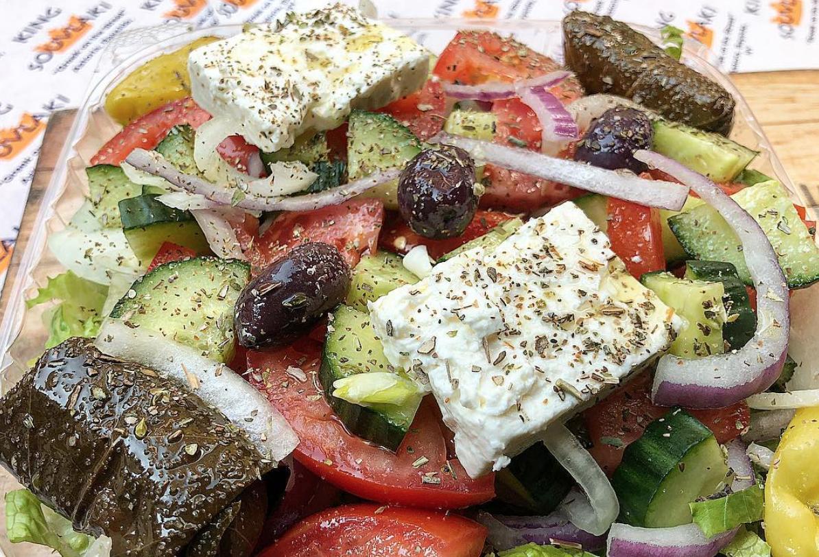 King Souvlaki Greek Salad
