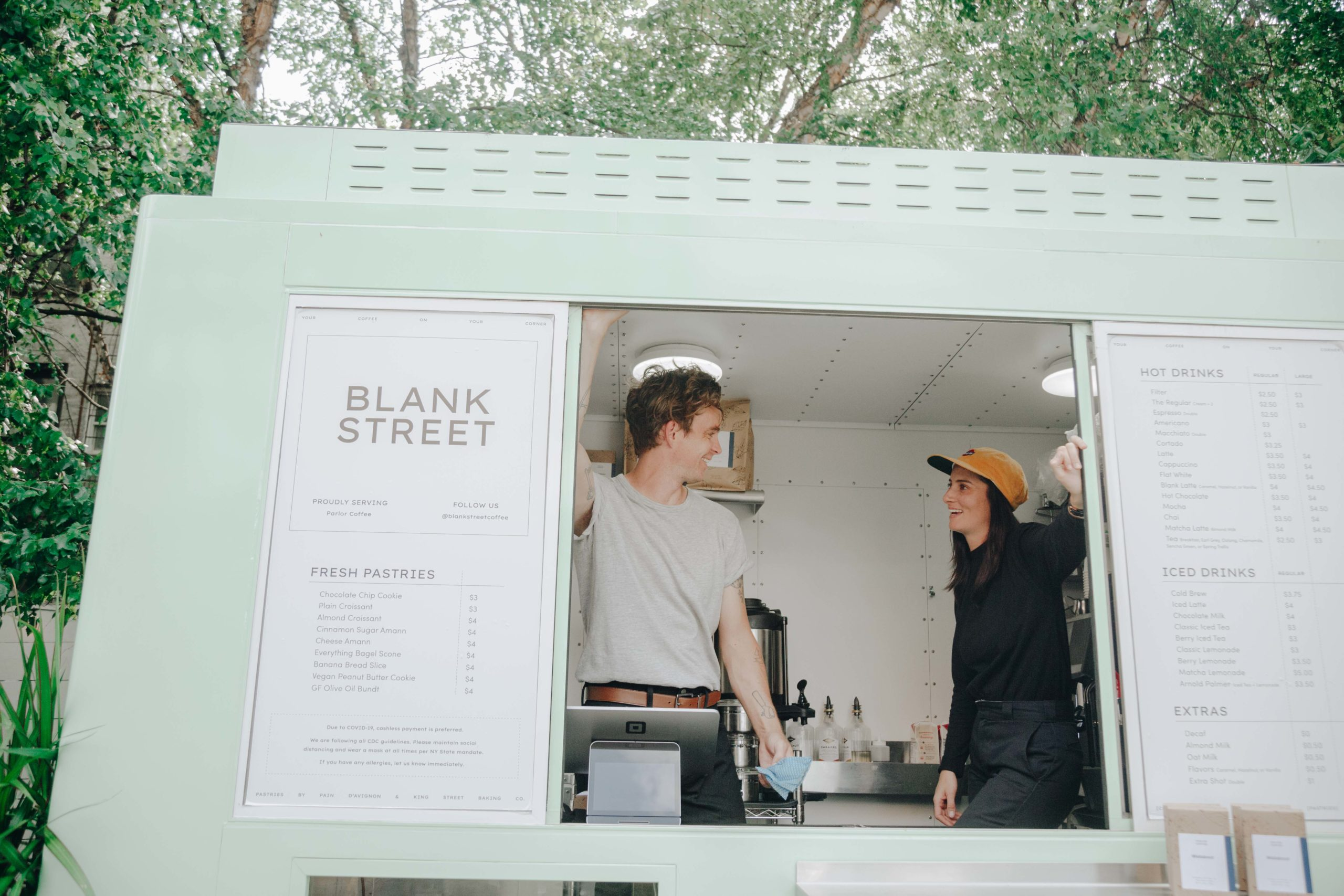 Blank Street Coffee Catering