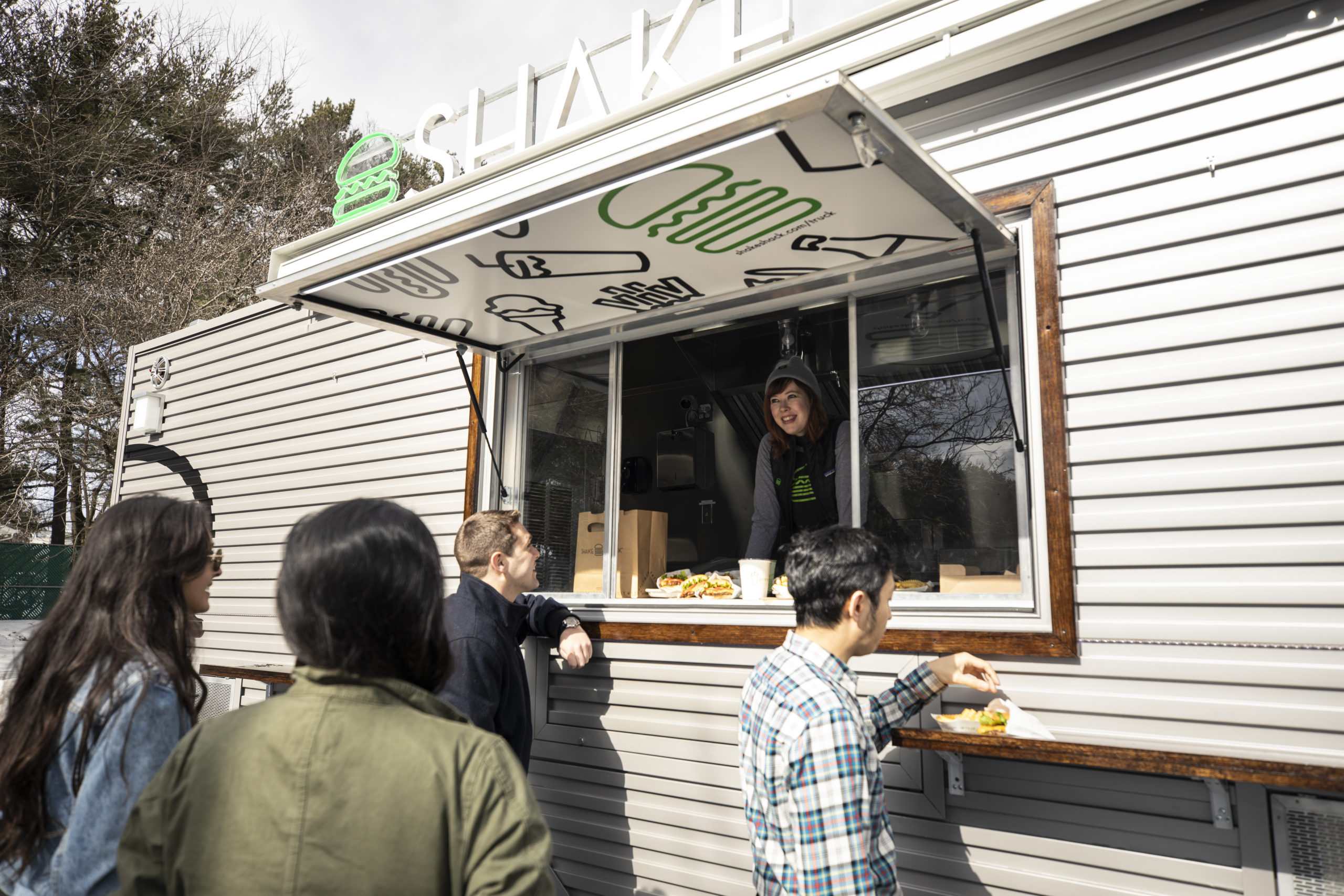 Shake Shack Truck New York