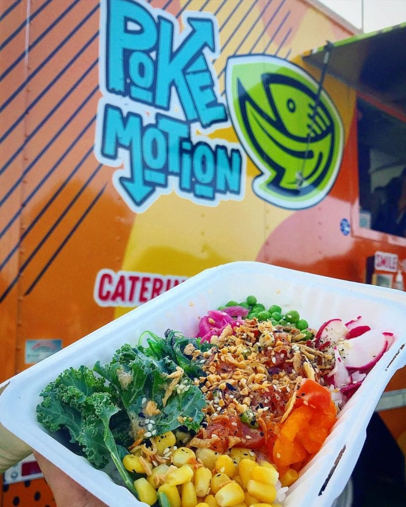 Poke Motion Seafood Catering