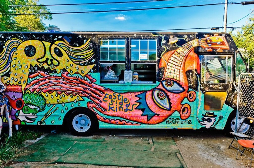 East Side King Food Truck Design