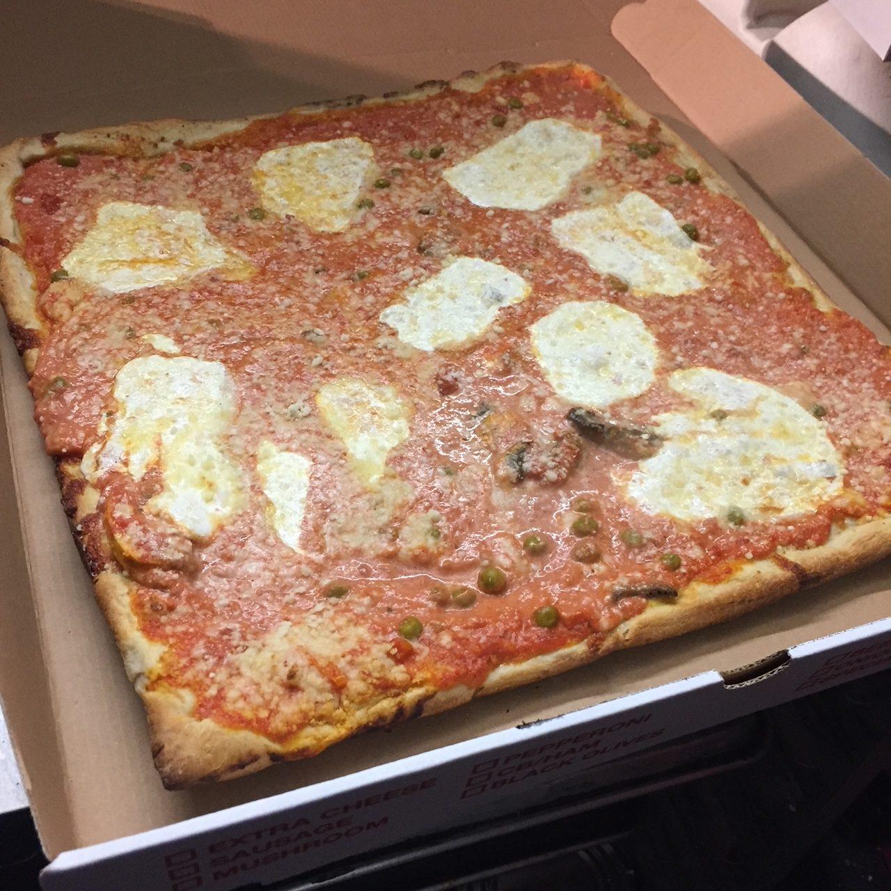 Jiannetto's Pizza Food Truck Vodka Sauce