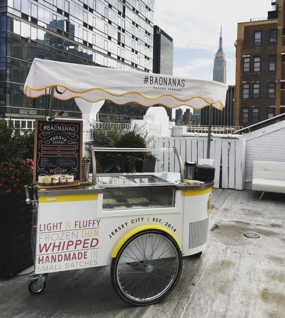 Baonanas Mobile Dessert Food Cart