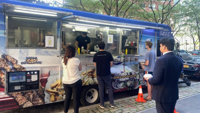 Book a food truck for your office