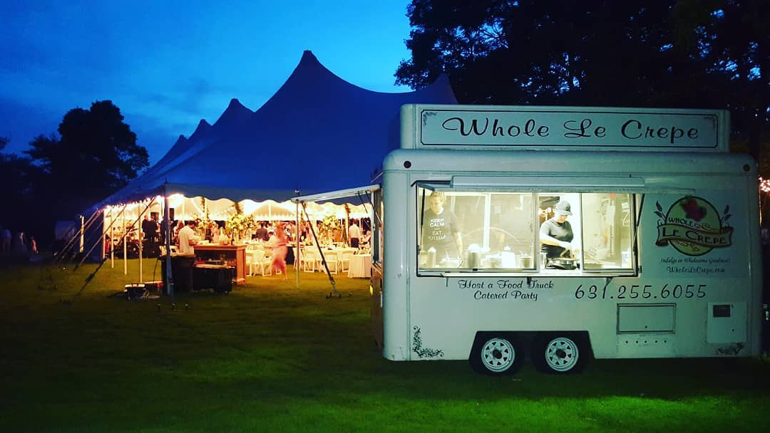 Dessert Food Truck Catering Private Event