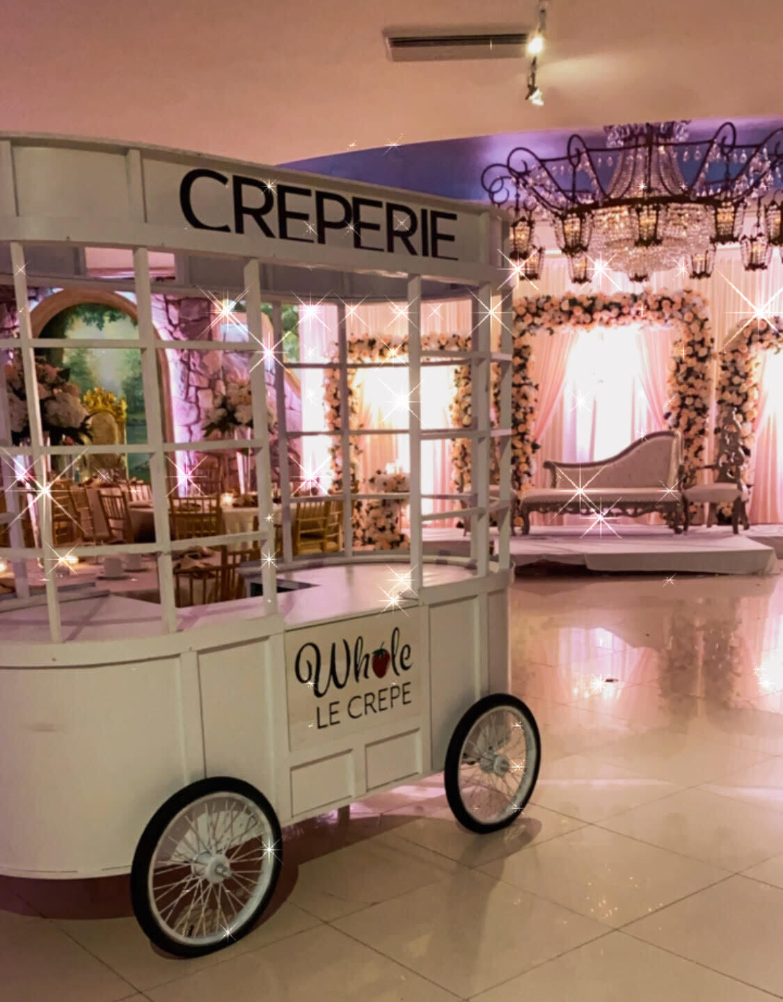 Whole Le Crepe Food Cart NY Dessert Catering