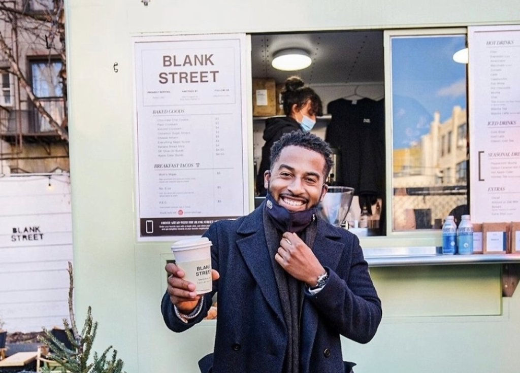 Blank Street Coffee Food Truck Brooklyn