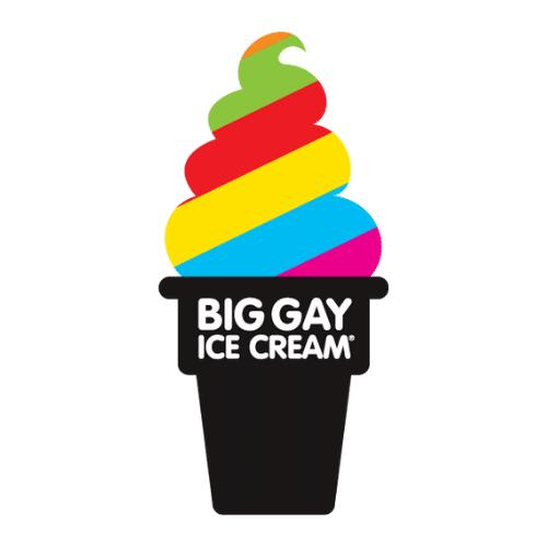 Big Gay Ice Cream Truck Logo