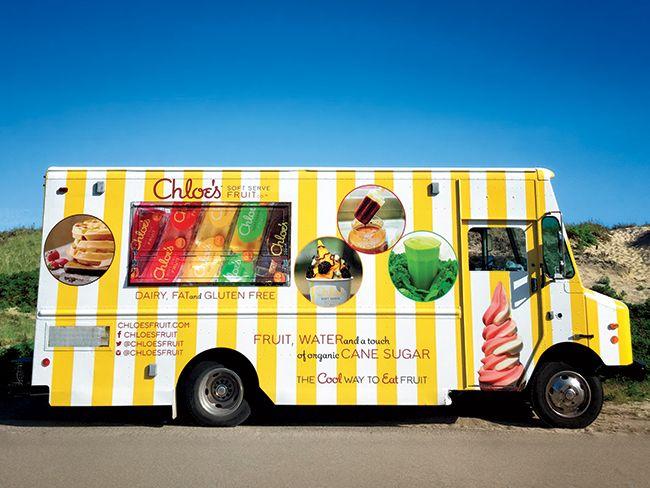 Chloe's Fruit Vegan Frozen Treat Food Truck