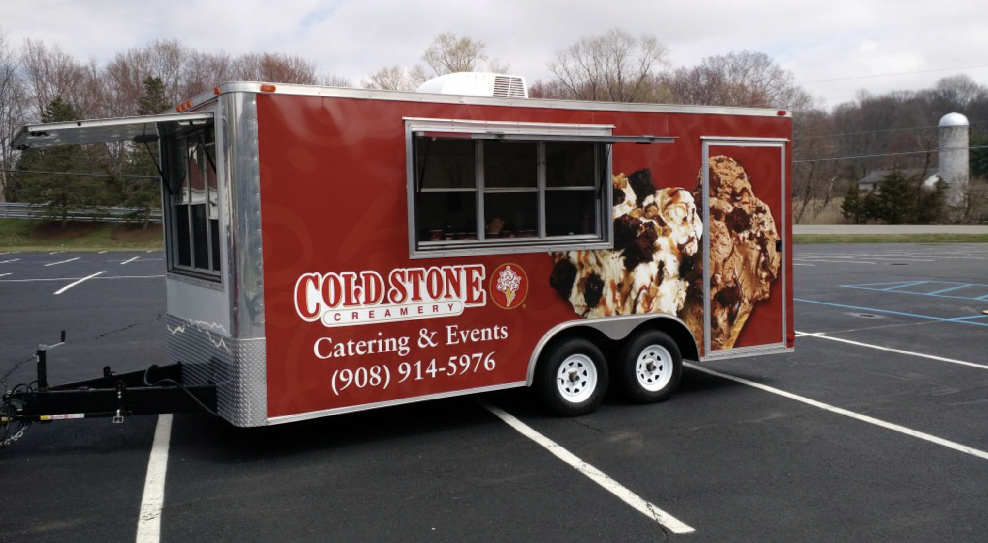 Cold Stone Creamery Ice Cream Cart