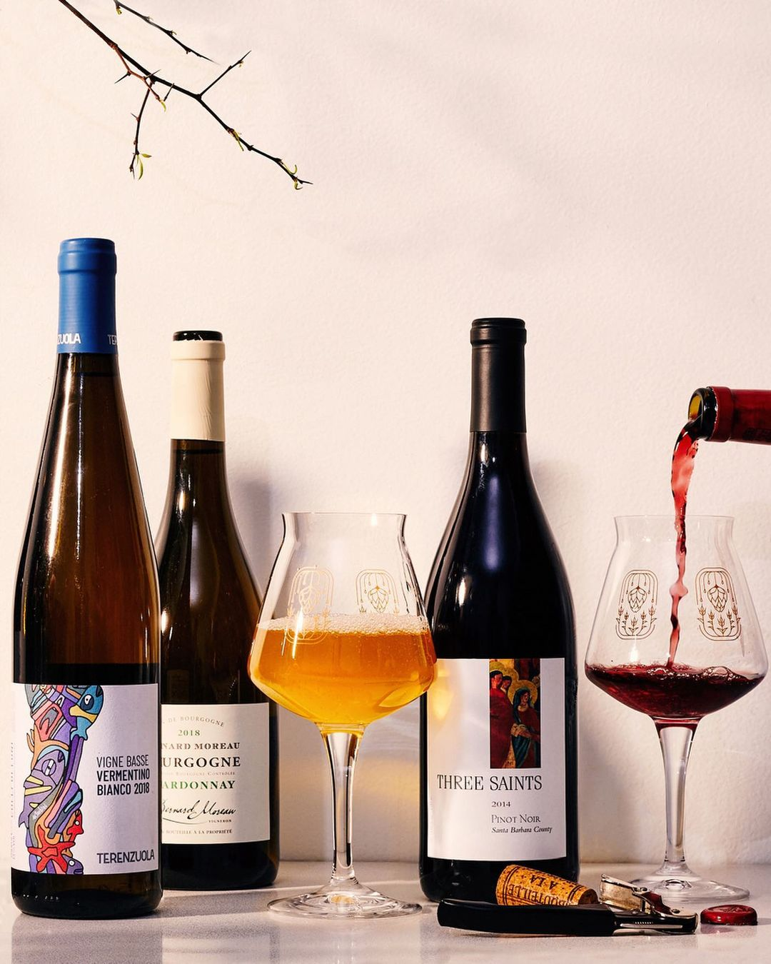 Wine and Beer from Greats of Craft New York