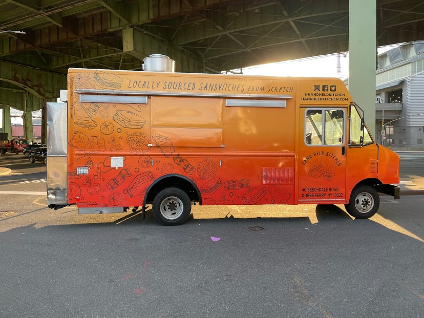Sandwich Food Truck Catering NYC Hand Held Kitchen