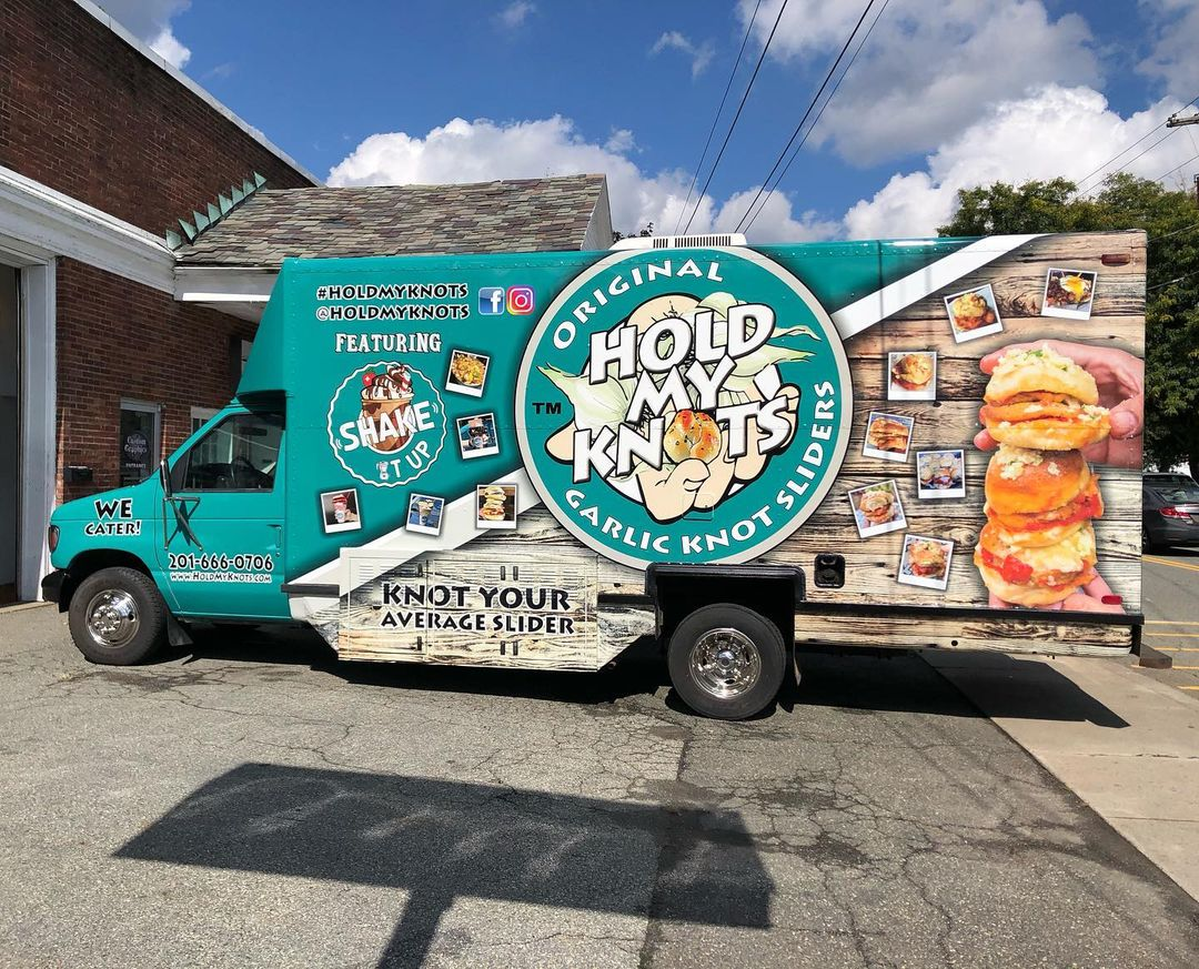 Hold My Knots Shake It Up Food Truck