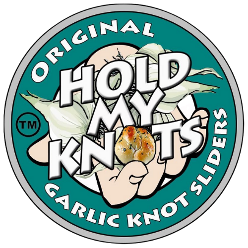 Hold My Knots Food Truck Logo