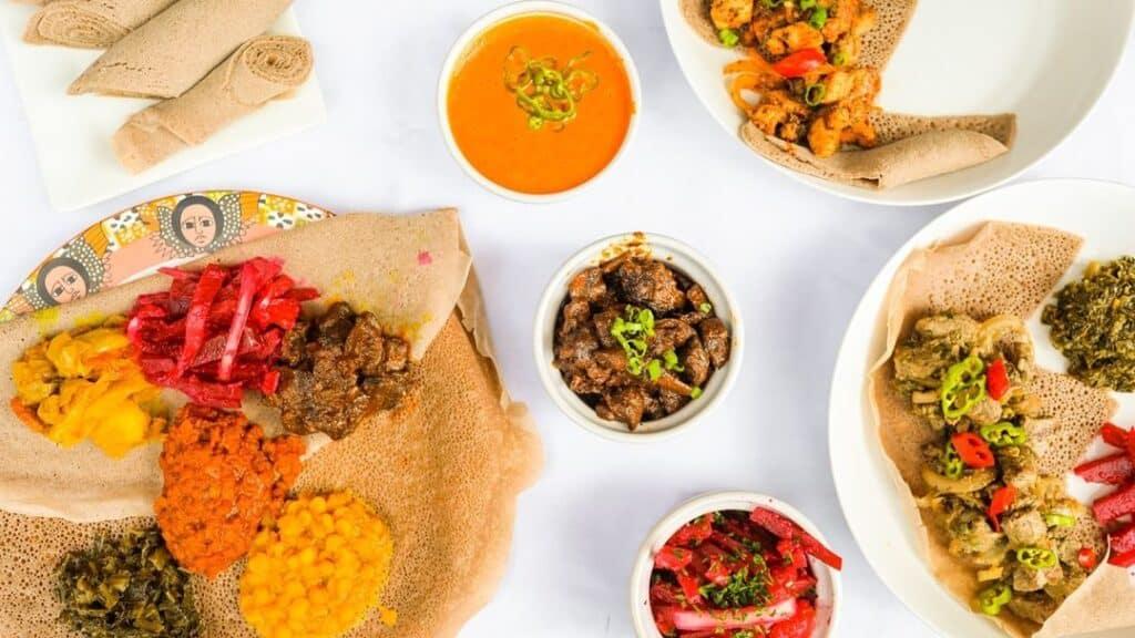 Makina Cafe Ethiopian Food Truck