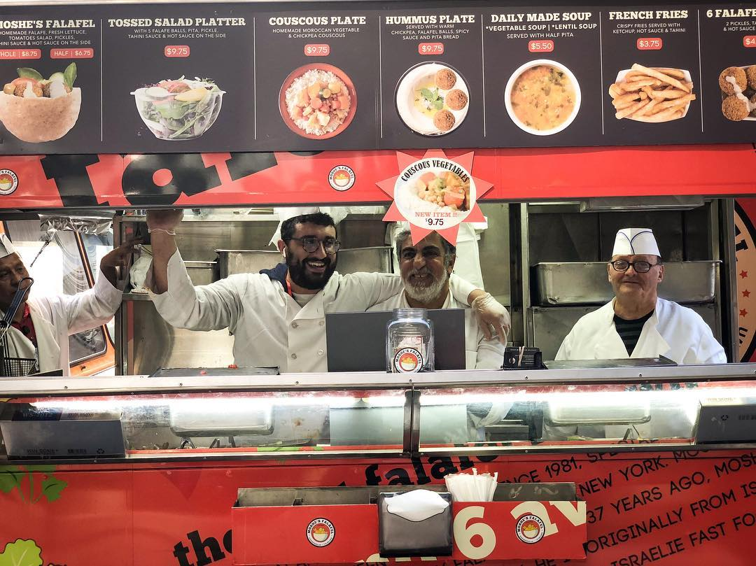 Moshe's Falafel Food Truck