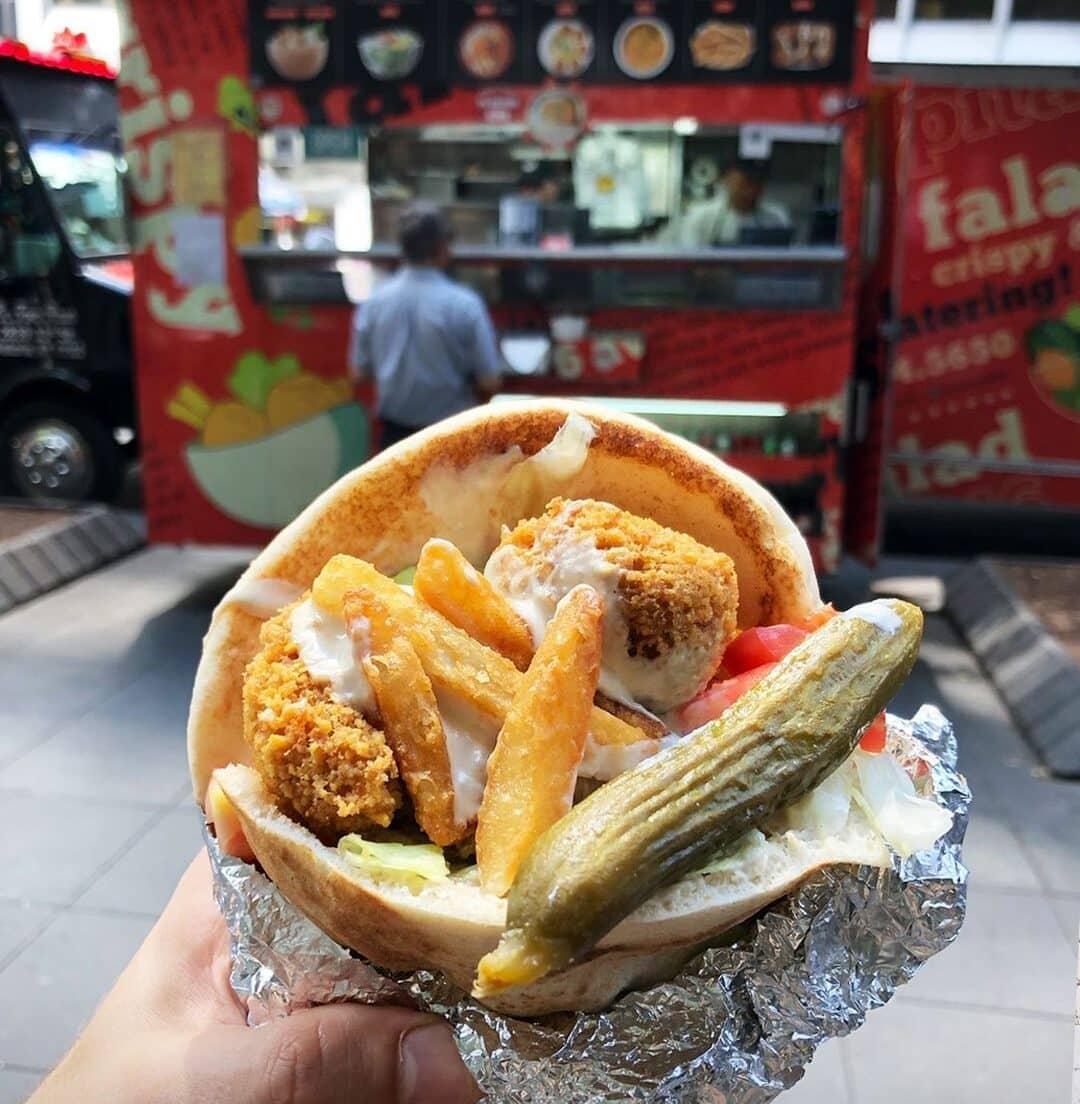 Moshe's Falafel Pita Sandwich