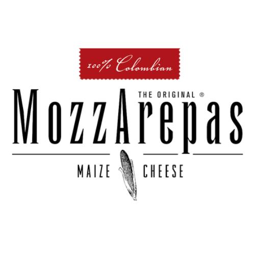 MozzArepas Food Truck Logo