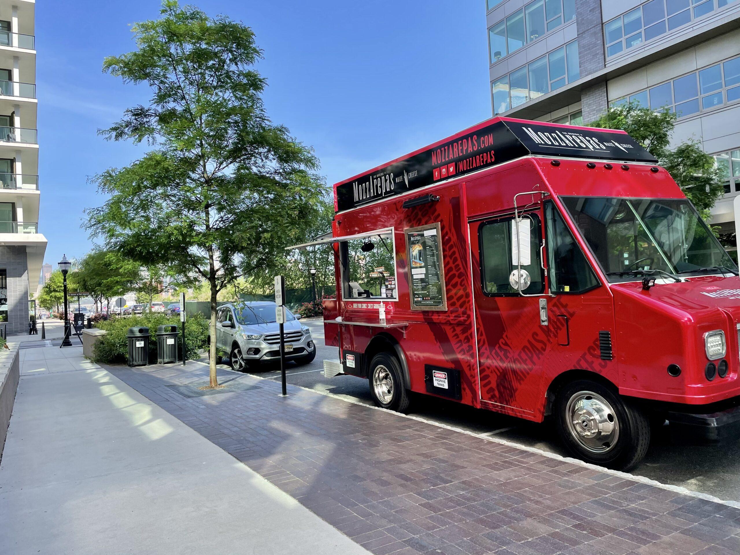 MozzArepas food truck catering nyc