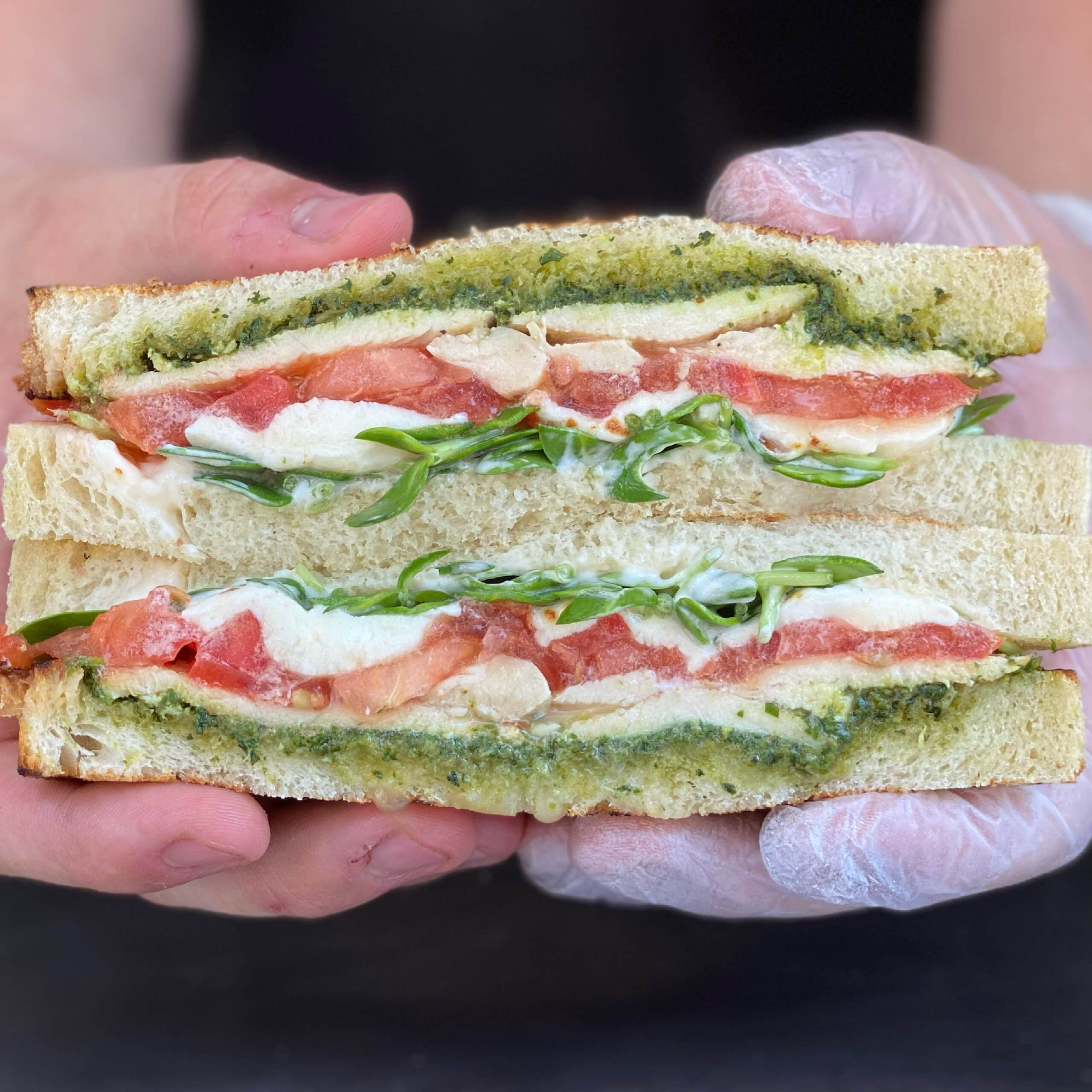 Pesto Chicken Sandwich Food Truck