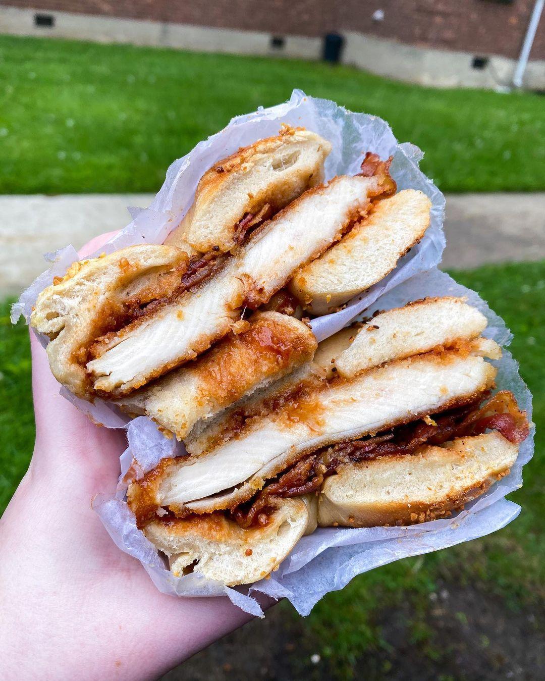 Utopia Bagels Chicken Cutlet Sandwich