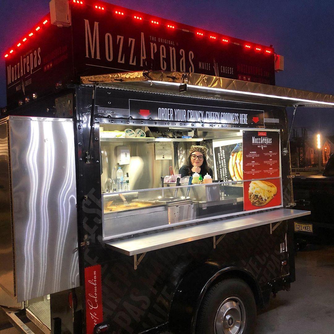 Mozzarepas NYC Colombian Food Truck
