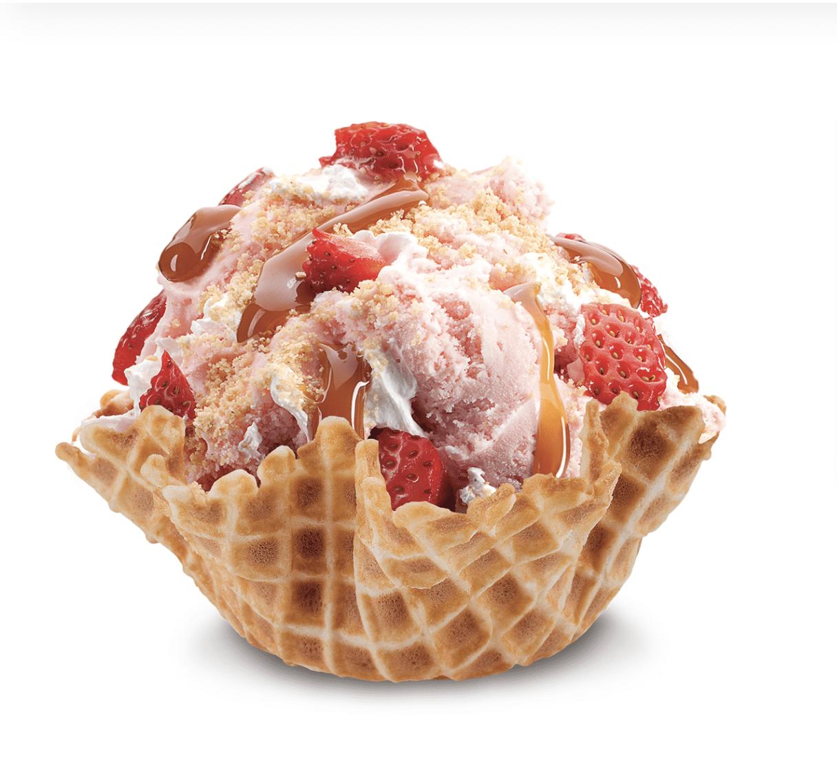 Our Strawberry Blonde Cold Stone Creamery Ice Cream Truck