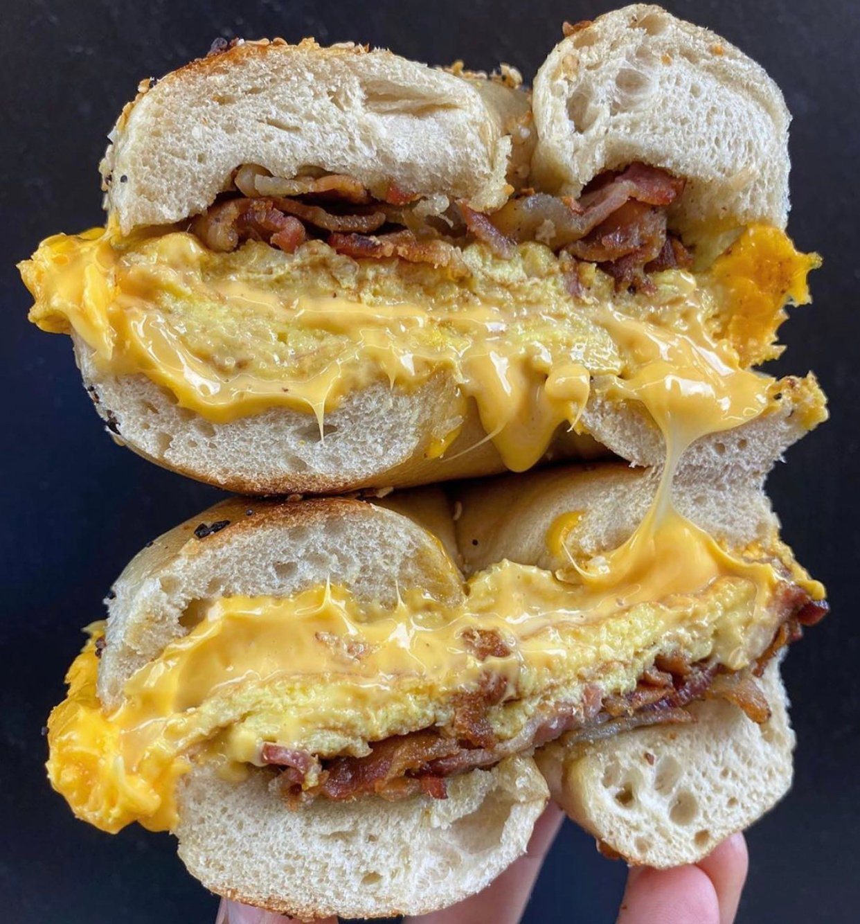 Utopia Bagels Bacon Egg and Cheese