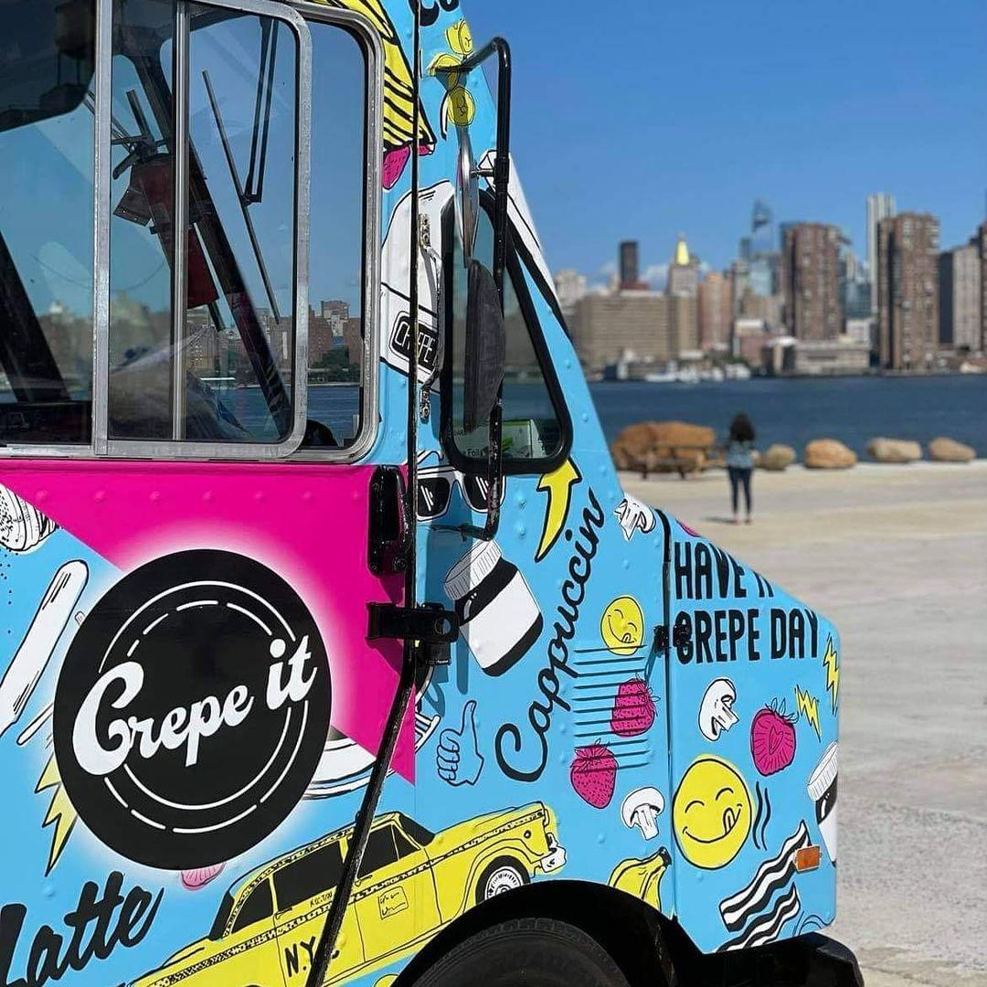Crepe It Food Truck Brooklyn New York NY