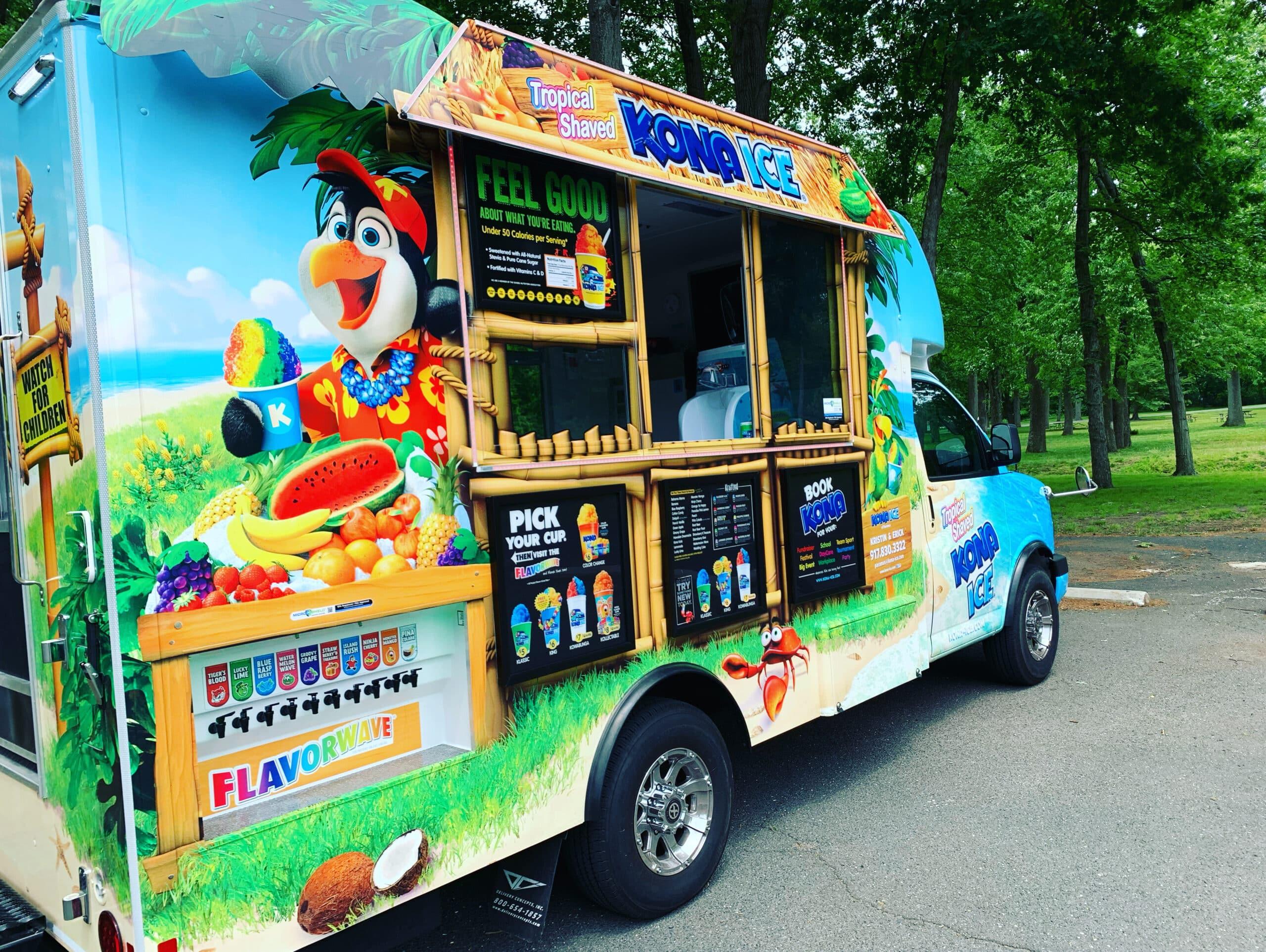 Kona Ice Food Truck New York Dessert Catering