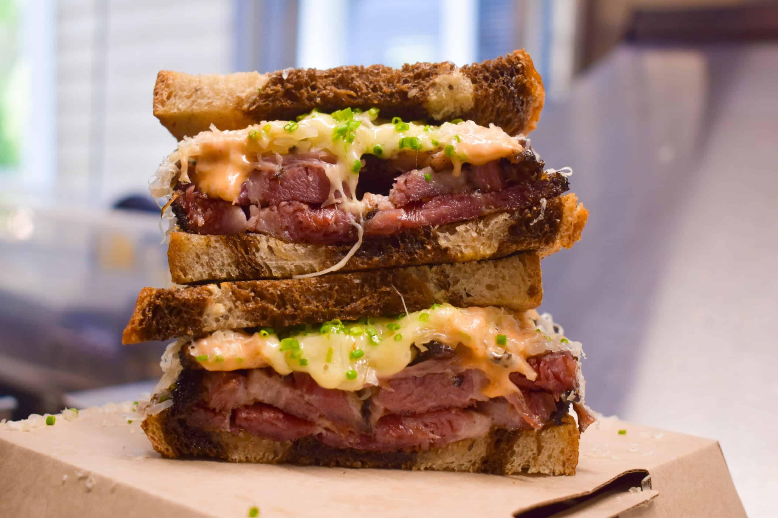 Reuby Sandwich Catering Kinwich Food truck
