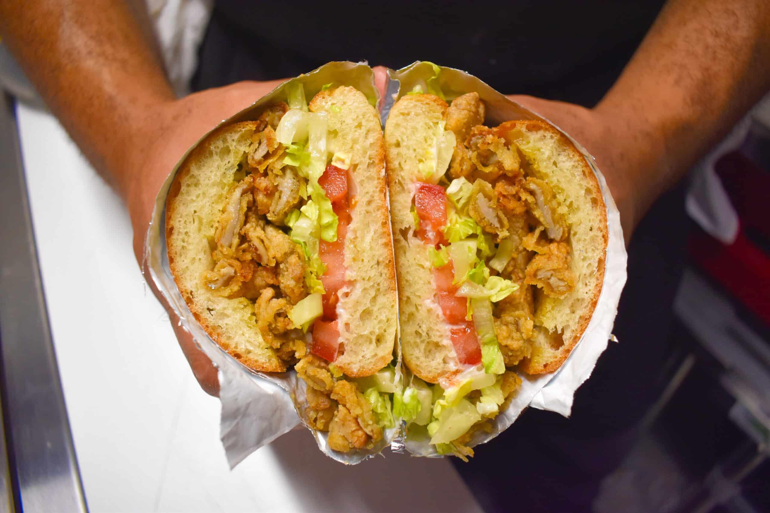 Shroom Boy Vegan Sandwich NY Food Truck Kinwich
