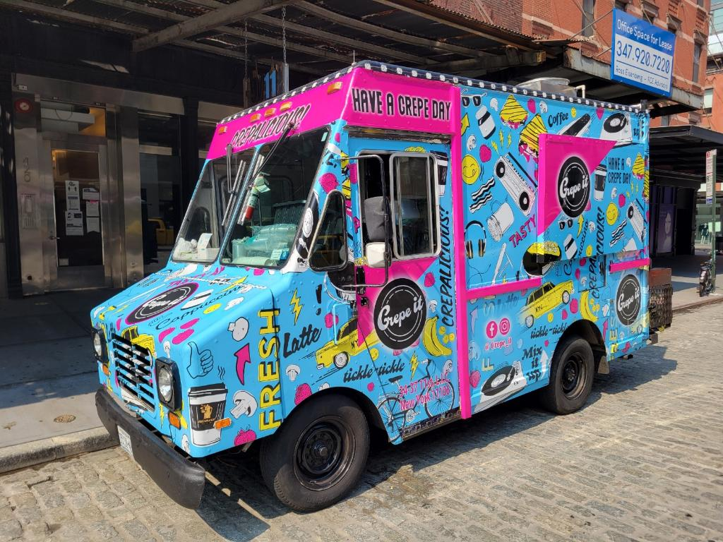 Crepe Food Truck NYC Catering