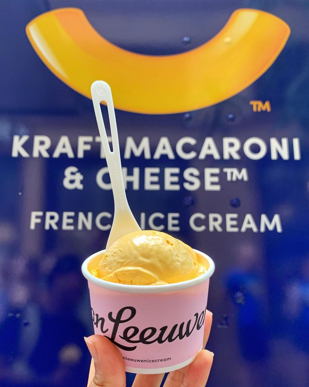 Mac & Cheese Ice Cream? Two Comfort Foods Blend Together