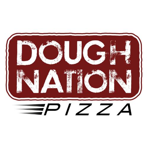 DoughNation Pizza Food Truck Logo