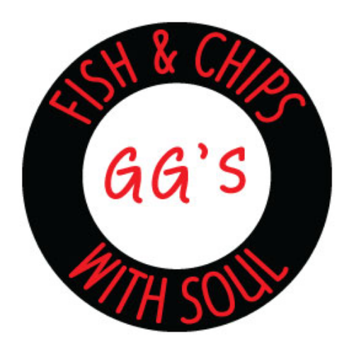 GG's Fish & Chips Food Truck Logo