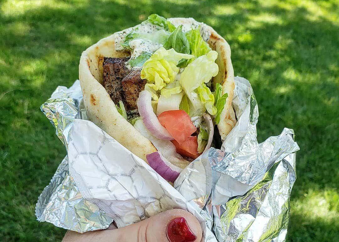 Greek food truck catering