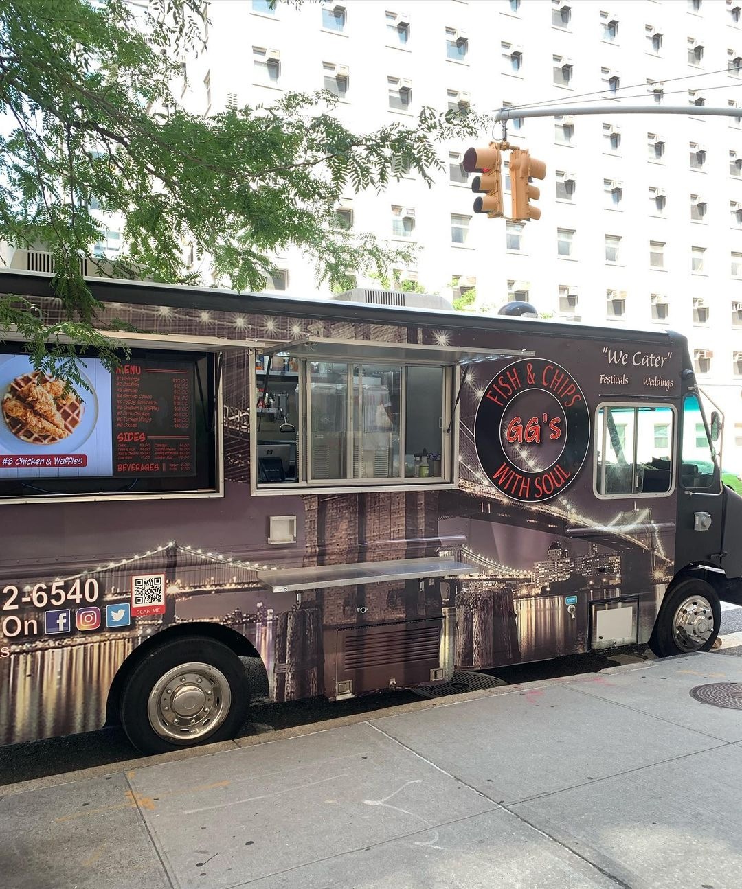 GG's Fish & Chips Soul Food Truck NYC